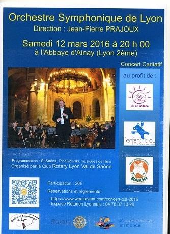 Concert du 12 mars 2016